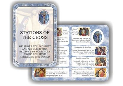 Picture of Stations of the Cross prayer booklet