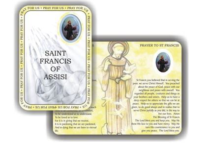 Picture of Saint Francis of Assisi prayer booklet