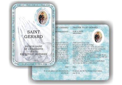 Picture of Saint Gerard prayer booklet