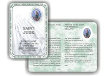 Picture of Saint Jude prayer booklet