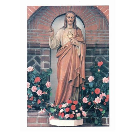 Picture of Mass Card - Sacred Heart