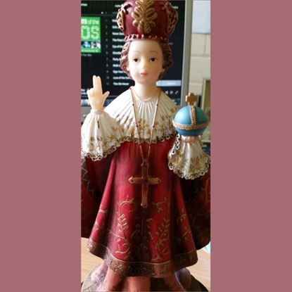 Picture of Infant of Prague statue