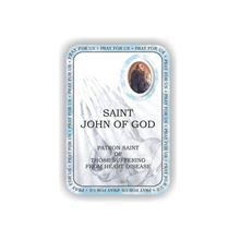 Picture of Saint John of God prayer booklet