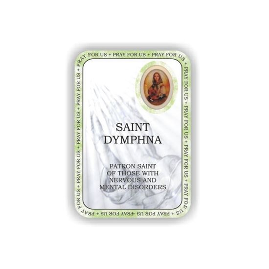 Picture of Saint Dymphna prayer booklet
