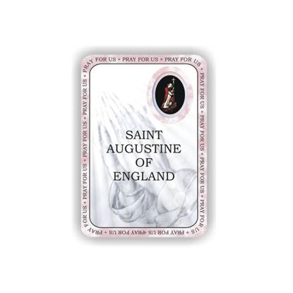 Picture of Saint Augustine of England prayer booklet
