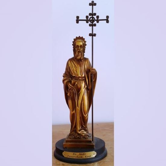 Picture of Saint Jude statue