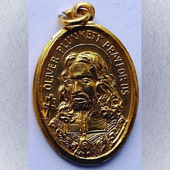 Picture of Medal of Saint Oliver Plunkett
