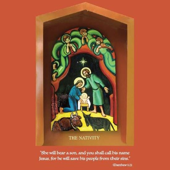 Picture of Christmas novena card 1