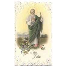 Picture of Saint Jude prayer card - Italian paper