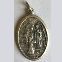 Picture of Medal of Our Lady of Lourdes & Saint Bernadette