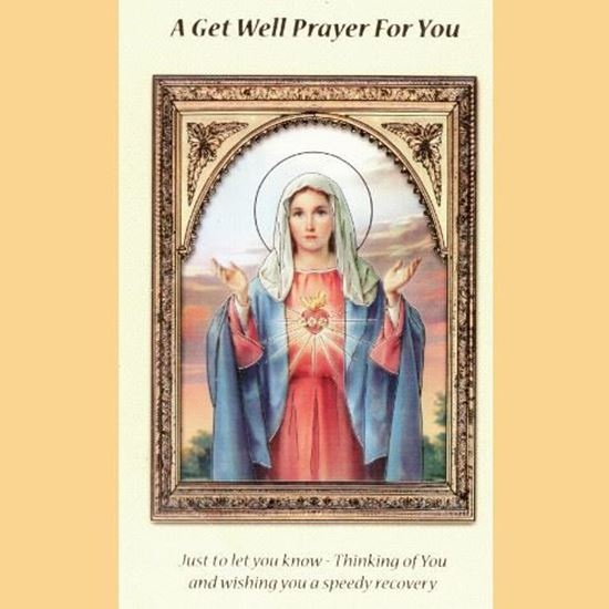 Picture of A Get Well Prayer for you card