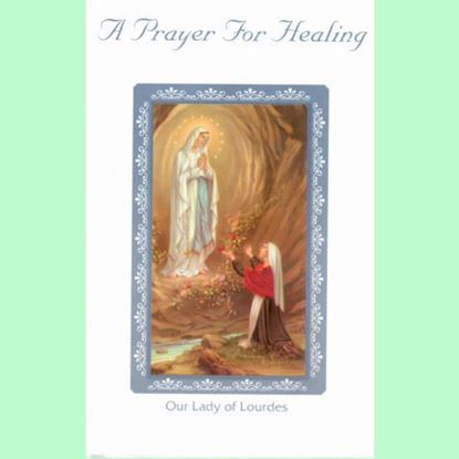 Picture of A Prayer for Healing card