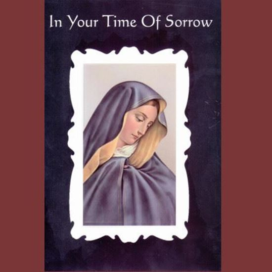 Picture of In your time of Sorrow card