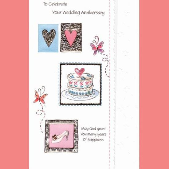 Picture of To celebrate your Wedding Anniversary card