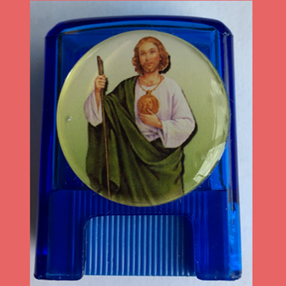 Picture of St Jude pencil sharpener