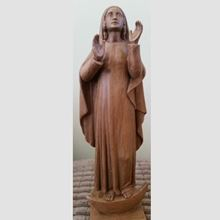 Picture of Our Lady of the Assumption statue