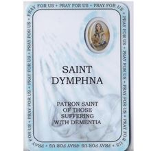 Picture of Saint Dymphna prayer booklet - Patron Saint of those with dementia