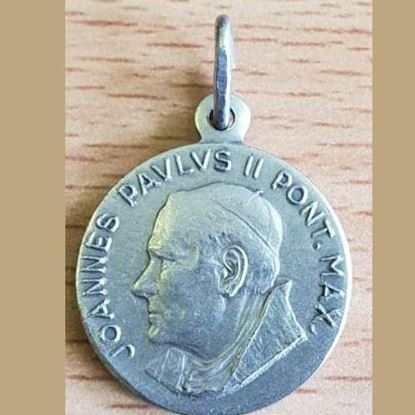 Picture of Pope John Paul II medal