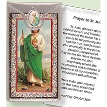 Picture of Saint Jude Medal & leaflet in wallet