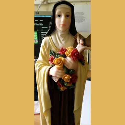 Picture of Saint Thérèse of Lisieux statue (24 inches)