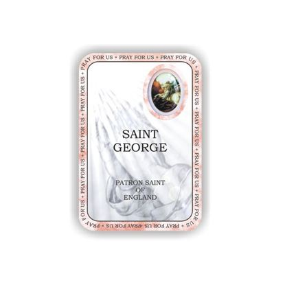 Picture of Saint George prayer booklet