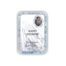 Picture of Saint Andrew prayer booklet