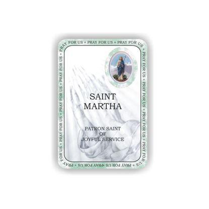 Picture of Saint Martha prayer booklet