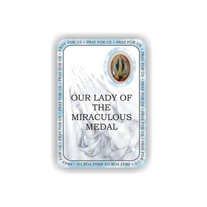 Picture of Our Lady of the Miraculous Medal prayer booklet