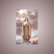 Picture of Saint Thérèse of Lisieux prayer card