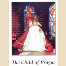 Picture of Child of Prague prayer card