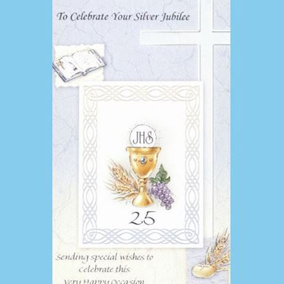 Picture of To celebrate your Silver Jubilee card