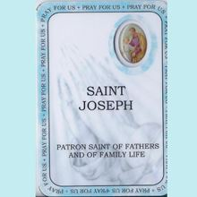Picture of Saint Joseph prayer booklet - Patron Saint of Fathers and Family Life