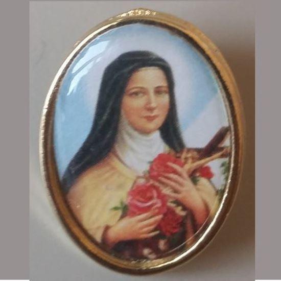 Picture of Saint Thérèse of Lisieux badge