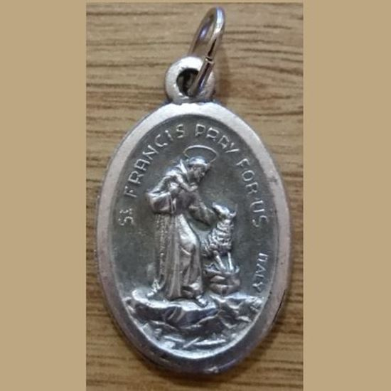 Picture of Medal of Saint Francis of Assisi and Saint Anthony of Padua
