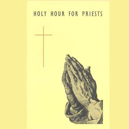 Picture of Holy Hour for Priests