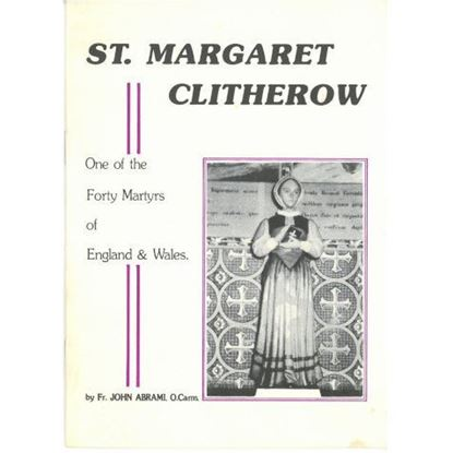 Picture of Saint Margaret Clitherow pamphlet