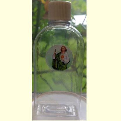 Picture of Saint Jude plastic Holy Water Bottle