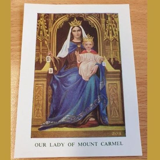 Picture of Prayer to Our Lady of Mount Carmel