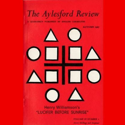 Picture of The Aylesford Review IX Vol 1