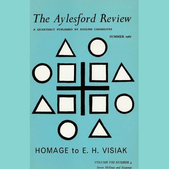 Picture of The Aylesford Review vol. VIII no.4