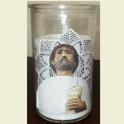 Picture of Saint Jude pillar candle - 2