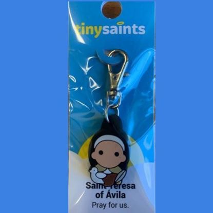 Picture of Saint Teresa of Avila keyring