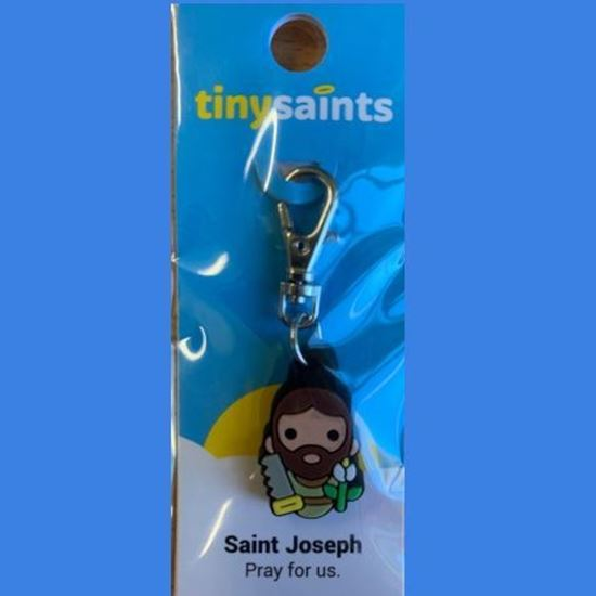 Picture of Saint Joseph keyring