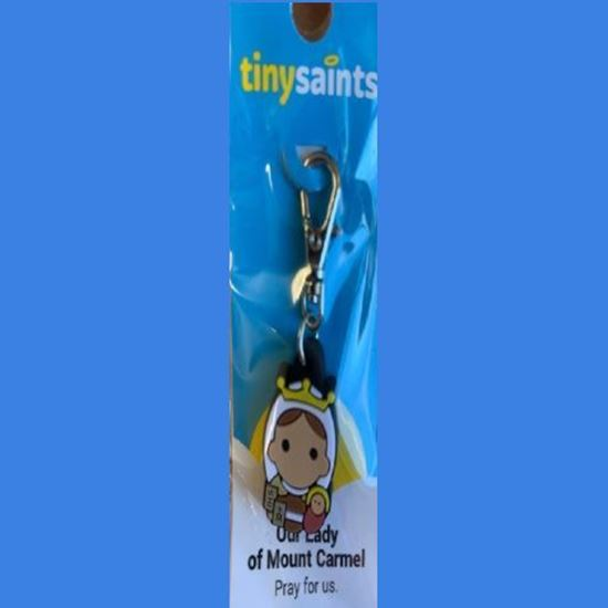 Picture of Our Lady of Mount Carmel keyring