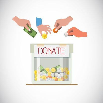 Picture of Donation for oil