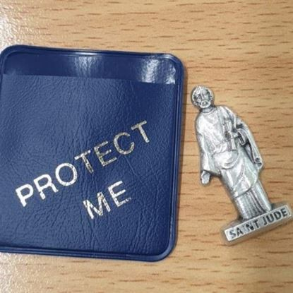 Picture of Saint Jude Keepsake (blue pouch)