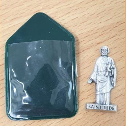 Picture of Saint Jude Keepsake (green pouch)