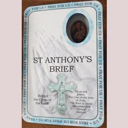 Picture of St Anthony's brief