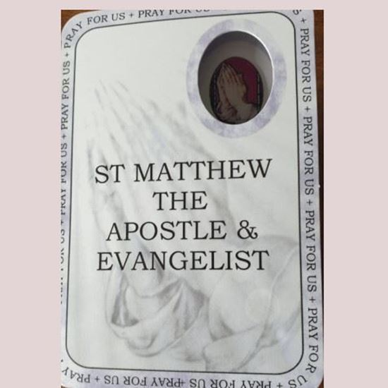 Picture of St Matthew the Apostle and Evangelist