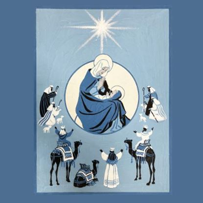 Picture of Christmas novena card 2